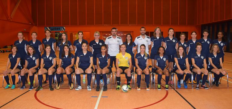 Nantes Métropole futsal équipe Féminine