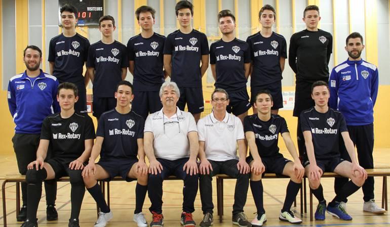 Nantes Métropole Futsal équipe U17