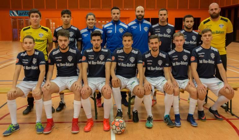 Nantes Métropole Futsal équipe réserve