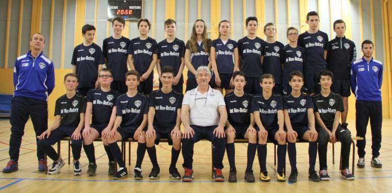 Nantes Métropole Futsal équipe U15