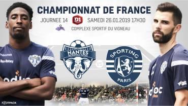 NMF / Sporting Paris : Infos & Billetterie