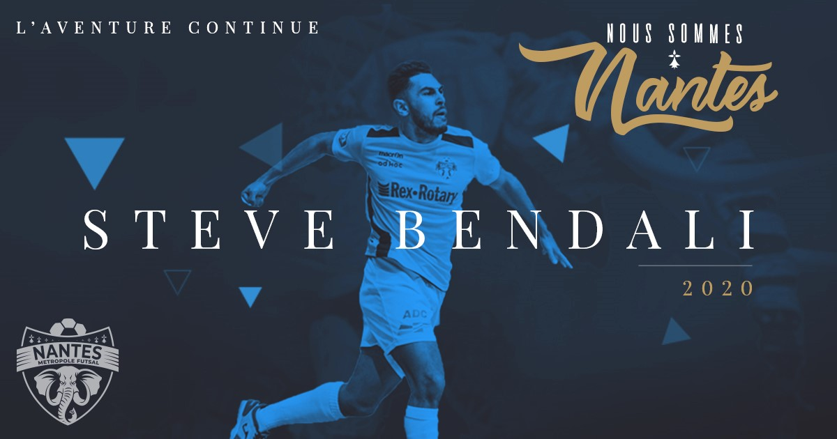 Saison 2019 – 2020 : STEVE BENDALI