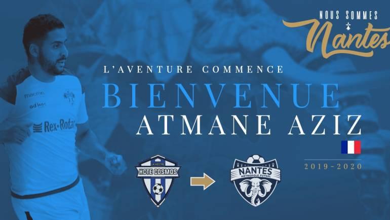 Saison 2019 – 2020 : ATMANE AZIZ