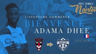 Saison 2019 – 2020 : ADAMA DHEE