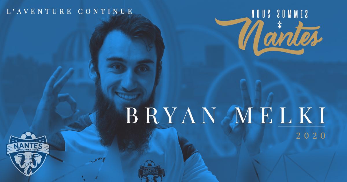 Saison 2019 – 2020 : BRYAN MELKI