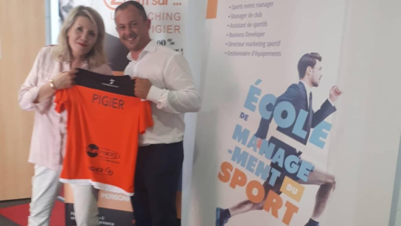 Renouvellement de partenariat : Pigier Performance & Win Sport School