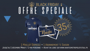 Offre Black Friday !
