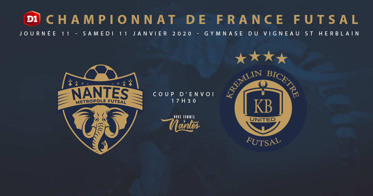 J11 : NMF / KB UNITED | INFOS & BILLETTERIE