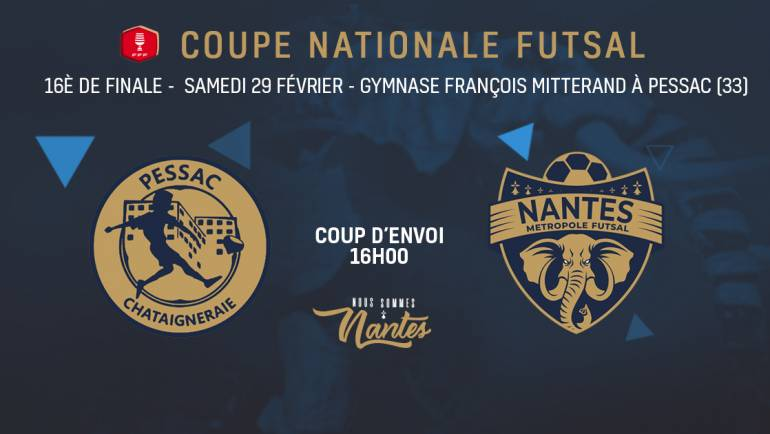 16ÈME DE FINALE – COUPE DE FRANCE