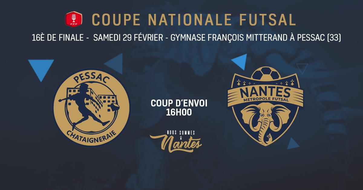 16ÈME DE FINALE – COUPE DE FRANCE