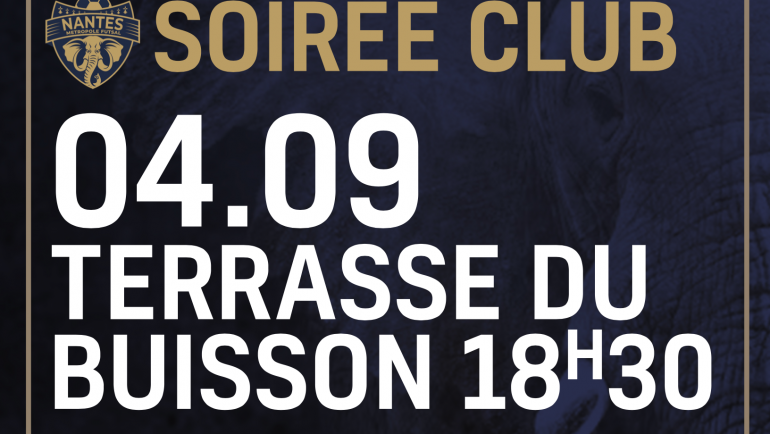 SOIREE DE REPRISE 04 SEPTEMBRE 2020