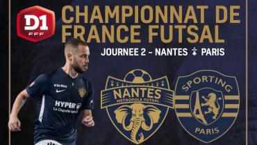 J2 : NMF / Sporting Paris | Infos & Billetterie