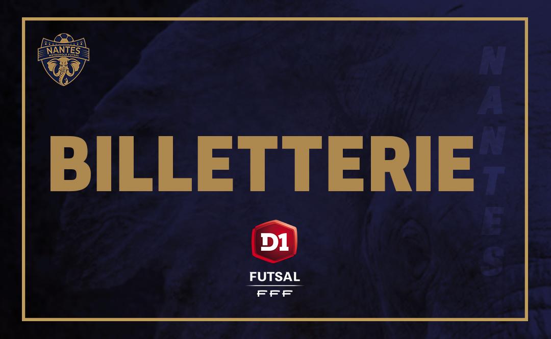BILLETTERIE D1 FUTSAL
