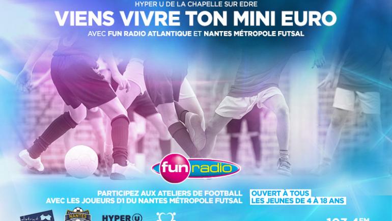 Viens vivre ton mini Euro avec le NMF !