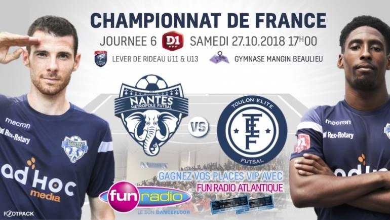 Nantes / Toulon : Infos & Billeterie